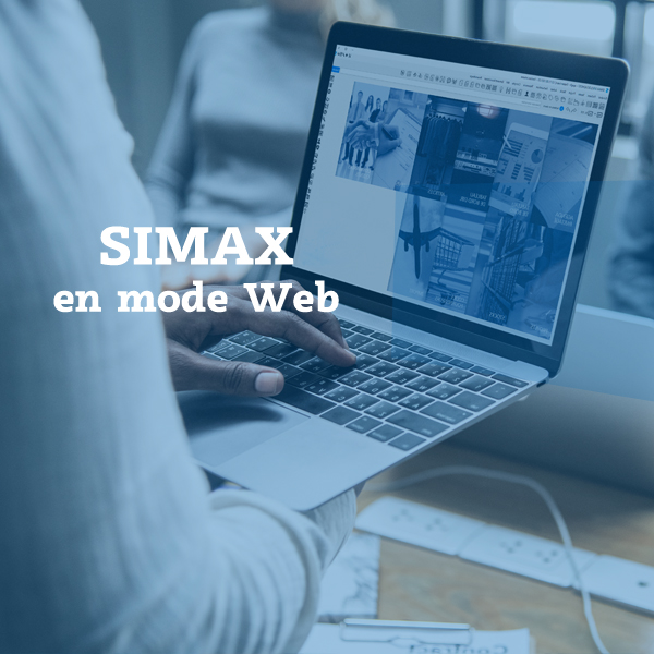Mode web SIMAX ERP CRM